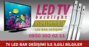 tv led bar değişimi